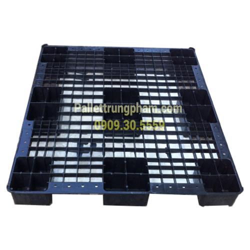 Pallet nhựa Hàn Quốc gù 1100x1200x150
